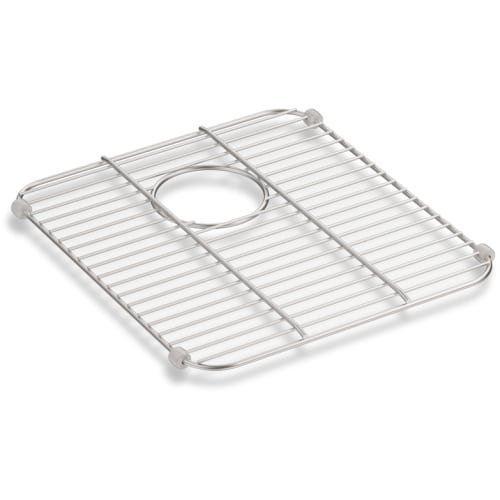 Kohler 8339-ST Iron/Tones Stainless steel Sink Rack, 14-1/4 inch x 12-13/16 inch for Iron/Tones Smart Divide Kitchen Sink