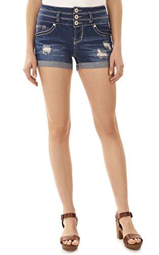 乳白滞在バリーWallFlower Jeans SHORTS レディース