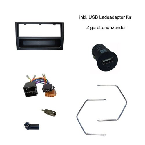 5 opinioni per Lomatronix- Mascherina autoradio per Opel Corsa C, Combo, Omega B, Astra G,