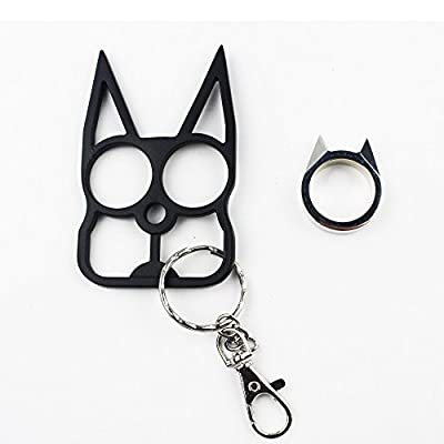 Lovelyou Cat Self Defense Safety Keychain Keyrings, Cat Ears Ring, Emergency Survival Tool by Lovelyou