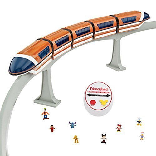 Deluxe Upgraded Remote Controlled Monorail Play Set - Disneyland Theme Park Exclusive - Limited Availability by Disney (Image #1)