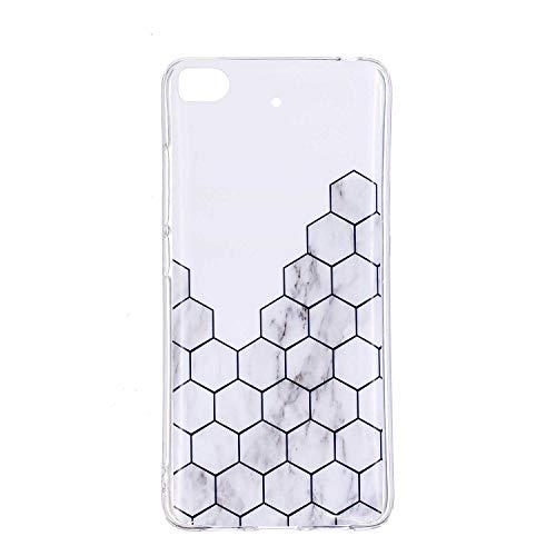 Xiaomi MI 5S Case, NEXTATI Ultra Slim TPU Soft Rubber Silicone Anti Scratch Bumper Marble Design Cover Phone Case for Xiaomi MI 5S, Pattern 3