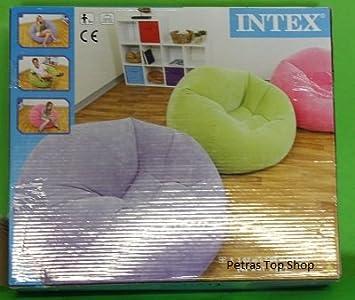 Intex® Lounge - Sillón Hinchable para Tienda: Amazon.es: Hogar