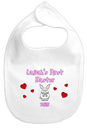 Personalised baby girl boy bunny rabbit 1st first easter gift personalised baby girl boy bunny rabbit 1st first easter gift pink negle