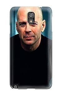 Hot Tpu Cover Case For Galaxy/ Note 3 Case Cover Skin - Bruce Willis