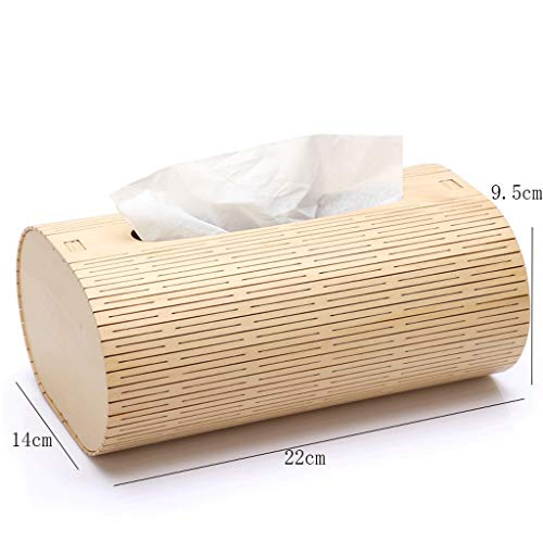 ZYN Wooden Tissue Box- European Style Living Room Household Tray Wooden Napkin Box by ZYN (Image #1)