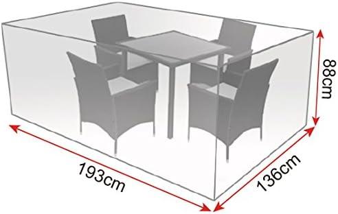WOLTU® GZ1172tp Coperture per Mobili da Giardino Tavoli
