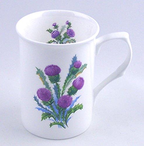 English Fine Bone China Mug - Thistle Spray Chintz - England