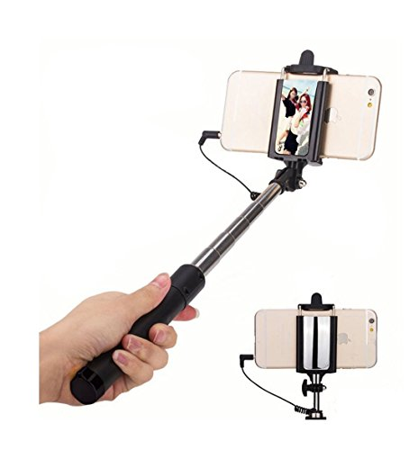 74 off selfie stick self portrait monopod wired selfie stick for iphone 6s 6s plus 6 6 plus 5s. Black Bedroom Furniture Sets. Home Design Ideas