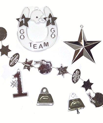 Go Team Emellishment pk - Silver