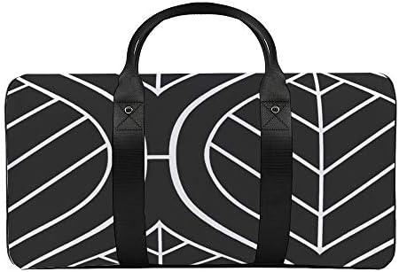 ボヘミアンmodグレー金曜日1 旅行バッグナイロンハンドバッグ大容量軽量多機能荷物ポーチフィットネスバッグユニセックス旅行ビジネス通勤旅行スーツケースポーチ収納バッグ
