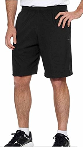 Kirkland Signature Mens Active Short With Liner (Medium, Black)