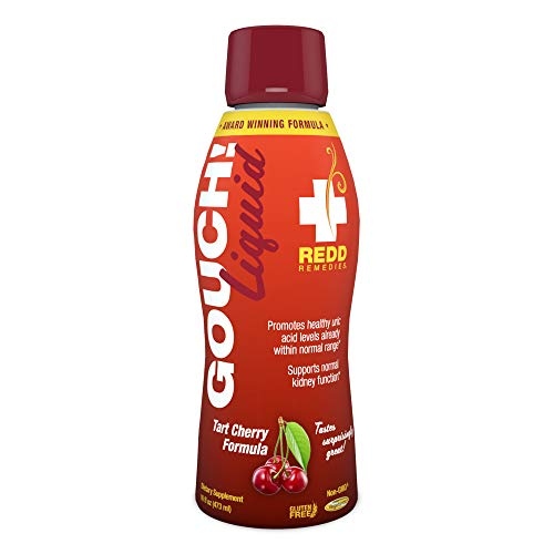 Redd Remedies - Gouch! Liquid Formula, Supports Joint Comfort and Inflammation Response, Tart Cherry, 16 oz (24 Servings)