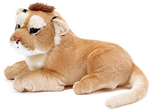 [Lumumba the Congolese Lion | 27 Inch Large Stuffed Animal Plush | By VIAHART] (Stuffed Lioness)