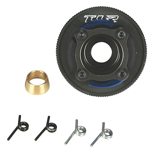 (Team Losi Racing Prebuilt Clutch 4 Shoe HA Alum 8B 8T, TLR9101)