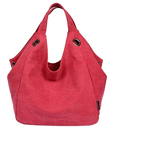 Tote It! Classic Everyday Tote (Red) - 1