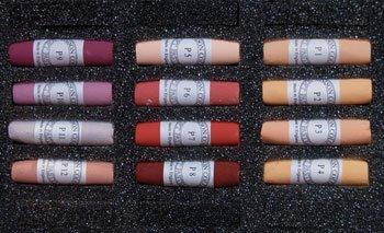 Unison Soft Pastels : Portrait Set of 12 (P1 to P12)