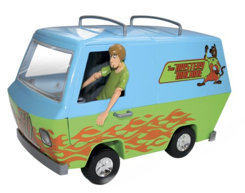 SCOOBY-DOO RUMBLE & RACE MYSTERY MACHINE ACTION POWERED VEHICLE NEW -