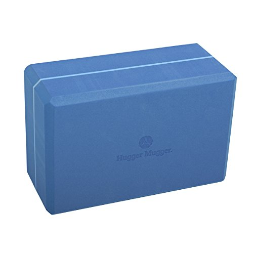 - Hugger Mugger 4 in. Foam Yoga Block (Blue)