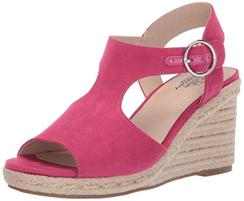 Wedge Women Fuchsia - LifeStride Women's TYRA Wedge Sandal, Fuchsia, 8 M US