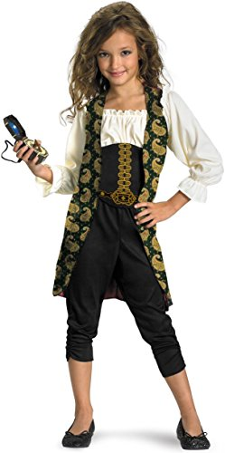 [Angelica Classic Child Costume - Small (4-6x)] (Pirate Costumes Footwear)