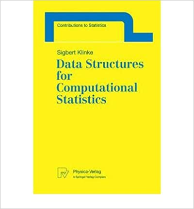 [(Data Structures for Computational Statistics )] [Author: Sigbert Klinke] [May-1997]