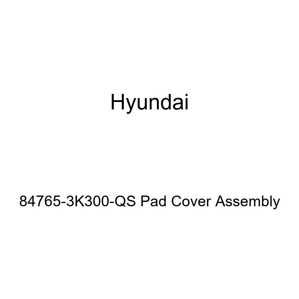 Genuine Hyundai 84765-3K300-QS Pad Cover Assembly
