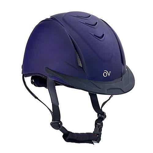 Helmet Metallic - Ovation Metallic Schooler Helmet S/M Purple