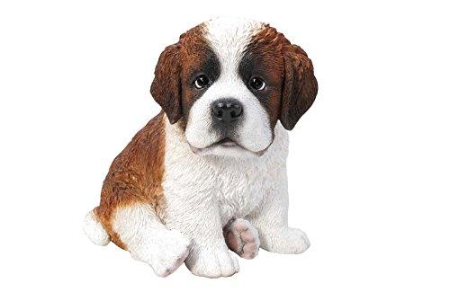 Hi-Line Gift Ltd Sitting Saint Bernard Puppy, 675