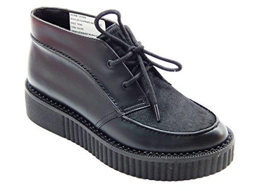 de Clarks noir pour lacets Chaussures UK7 EU41 femme à ville 1aq5Txwa