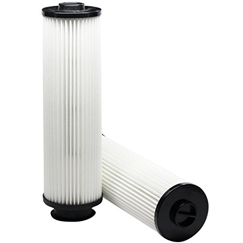 2-Pack Replacement Hoover Turbo 4600 EmPower Upright U5268900 Vacuum HEPA Cartridge Filter - Compatible Hoover 40140201, Type 201 HEPA Filter & also UH60010, U6616900, 43611042, U5786900, U5768900, U5760910, U5760900, U5753980, U5753960, U5753900