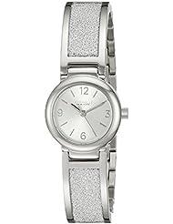 Caravelle New York Womens 43L181 Analog Display Analog Quartz White Watch
