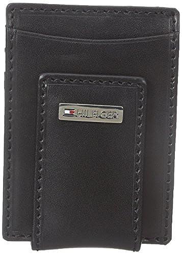 08. Tommy Hilfiger Men's Fordham Slim Front Pocket Wallet