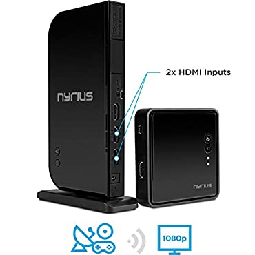 Nyrius Aries Home+ Wireless HDMI 2 Input Transmitter & Receiver