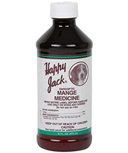 Happy Jack 1711 Sarcoptic Mange Medicine 16oz