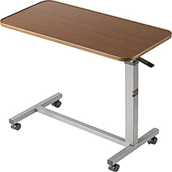 Amazon Com Drive Medical Non Tilt Top Overbed Table