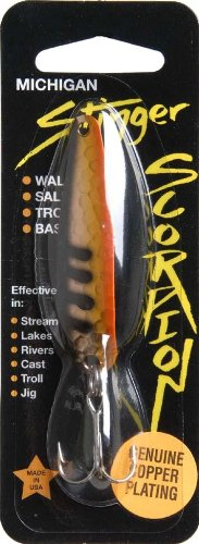 Advance Tackle Scorpion Chicken Wing Spoon, Orange
