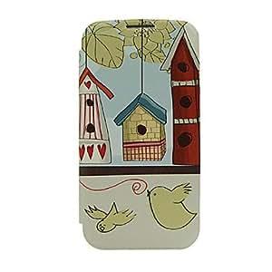 GOG-Birds Design Pattern Plastic Back Cover for Samsung S4