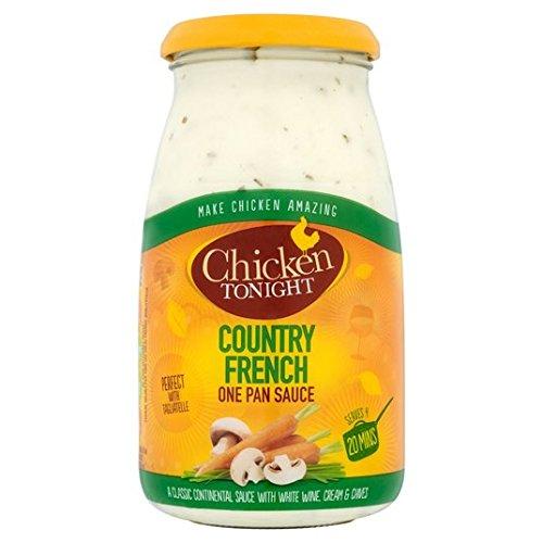 Esta noche pollo francés del país salsa de 500g: Amazon.es: Alimentación y bebidas