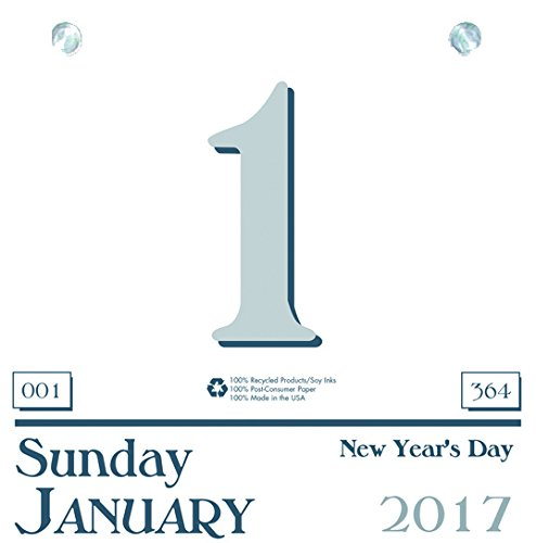 House of Doolittle 2017 Daily Today Calendar Refill, Compatible with HOD310, 6 x 6 Page Size (Hanging Refill Calendar)