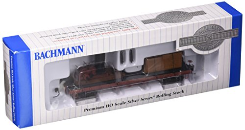 Ho Rolling Stock - Bachmann Trains Log Skidder with Crates On 40' Log Car - HO Scale