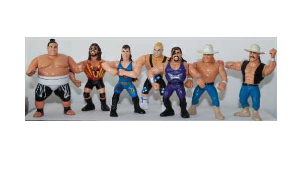 100/% Unofficial Hasbro WWF//WWE Action Figure Collectors Guide Book