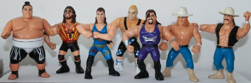 (Kev's Toy Guide To WWF Hasbro Wrestling)