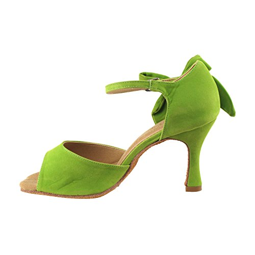 Shoes Dance Heel Wedding Shoes Gold Tango Party Shoes Swing Swing Salsa Medium Ballroom Tango Party Latin 7010 SERA3830 Women green Pump Salsa Pigeon Latin High Comfort Evening Dress AvAT6On
