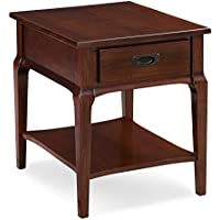 Leick 22007 Contemporary Stratus Drawer End Table