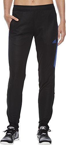 adidas Womens Tiro17 TRG Pant, Black/Blue, Medium