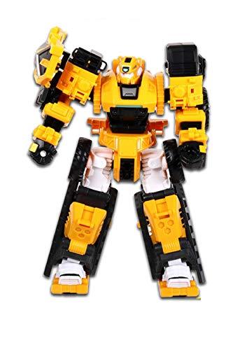 MiniForce X Pentathlon Max Penta X Bot Penta X Machine Robot Truck Car Vehicle Transforming Transformation Action Figure Figurine Toy Robot