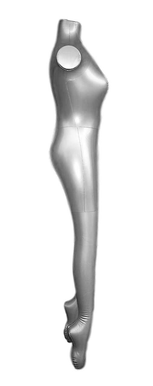 Vestido hinchable para mujer, cuerpo completo, diseño de maniquí ...