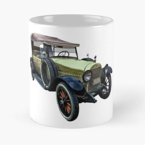 - Catherine Veal Old Jalopy Vintage Car - Coffee Mugs Unique Ceramic Novelty Cup Best Gift