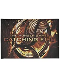 """The Hunger Games: Catching Fire """"Mockingjay Pin"""" Pillow Case"""